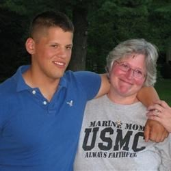 Proud mom of a US MARINE!!!