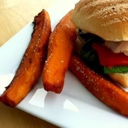 Carolyn's Sweet Potato Fries Recipe