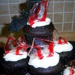 Bloody Glass Cupcakes!