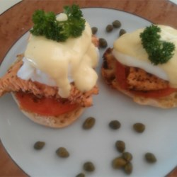 Eggs Benedict with Salmon