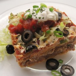 Quick and easy recipes allrecipes easy mexican casserole recipe and video this mexican casserole recipe made with layers of tortilla forumfinder Images