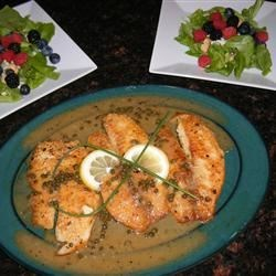 Lemon Piccata Whitefish Recipe