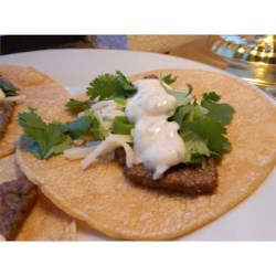 Steak Tacos with Spicy Yogurt Sauce Recipe