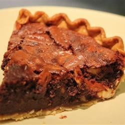 Pecan And  Chocolate Espresso Pie