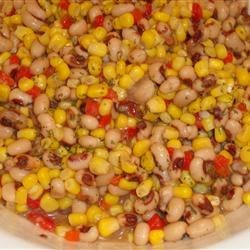 Cold Black-Eyed Peas and Corn