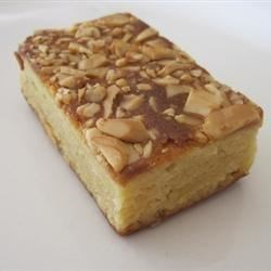 Cashew Caramel Bars Recipe