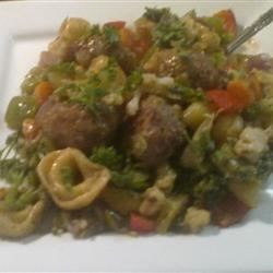 Chicken Sausage Tortellini Stir-Fry Recipe