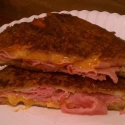 Ham Pan Sandwiches Recipe