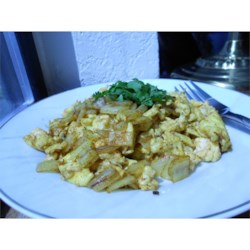 Nepalese Scrambled Eggs Recipe