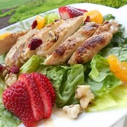 Warm and Limey Chicken Salad