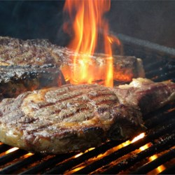 Big M's Whisky Soaked Beef Rib Steaks Recipe