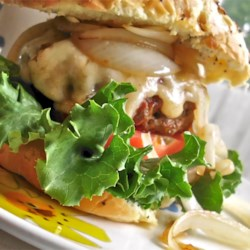 Kerry's Asiago Cheese Hamburger Recipe