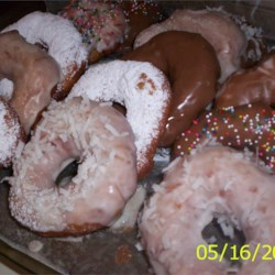 Bread Maker Doughnuts