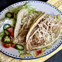 slow cooker pulled pork for tacos printer friendly