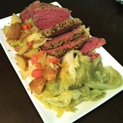 Slow-Cooker Corned Beef and Cabbage   Recipe