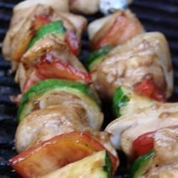 Yummy Honey Chicken Kabobs photo by Mandals - Allrecipes.com - 83905