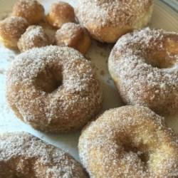 air fryer cinnamon sugar doughnuts printer friendly