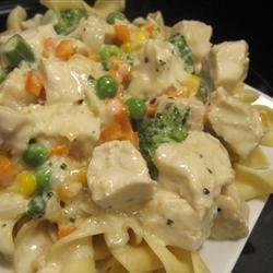 Creamed Chicken 'n' Veggies