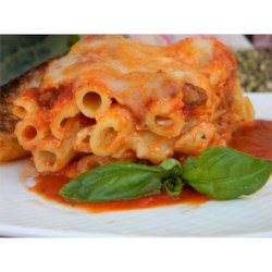 Photo of Healthier Baked Ziti I by MakeItHealthy