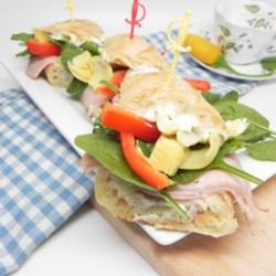 make ahead turkey tea sandwiches printer friendly