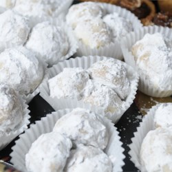 Elizabeth Dole's Pecan Roll Cookies Recipe