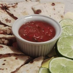 Barbecued Chicken Quesadillas Recipe