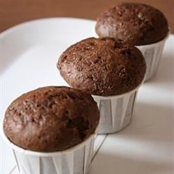 Chocolate Chocolate Chip Nut Muffins