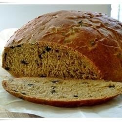 Mediterranean Black Olive Bread Recipe