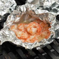 herbed shrimp scampi in a pouch printer friendly
