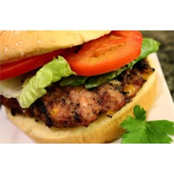 BBQ Feta and Hot Banana Pepper Turkey Burgers Recipe