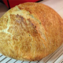 No Knead Rosemary Bread