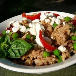 Mediterranean Brown Rice Salad ~ Recipe Group Selection: 26, May 2012