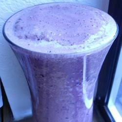 Chocolate and Blueberry Smoothie Recipe