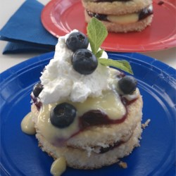 Blueberry Lemon Shortcake Recipe