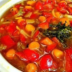 Photo of Spicy Red Bell Pepper Soup by QUIRKYIQ