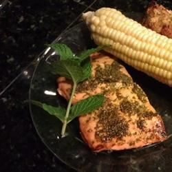Minted Salmon Recipe