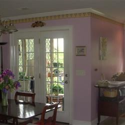 The new color makes my french doors pop!