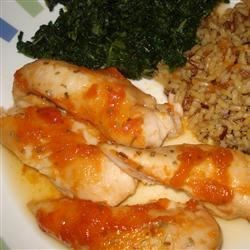 Apricot Chicken II Recipe