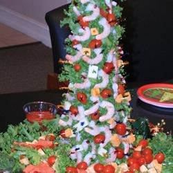 Mary's Christmas Shrimp Tree Recipe