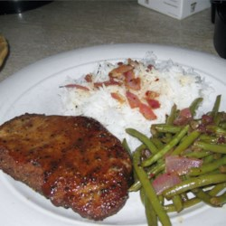 Maple-Mustard Glazed Pork Chops Recipe