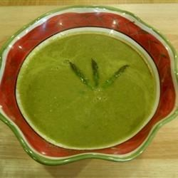 Garlic Asparagus Soup
