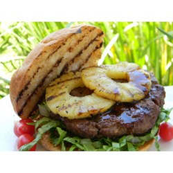 Pineapple Teriyaki Burgers  Recipe