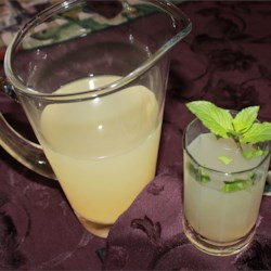 Meyer Lemonade with Mint Recipe