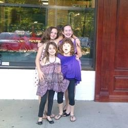 Me, my BFF, my sis and her BFF