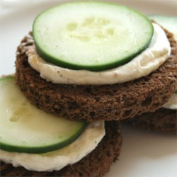 Cucumber Sandwich Appetizers Recipe