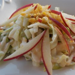 Apple Jicama Coleslaw Recipe