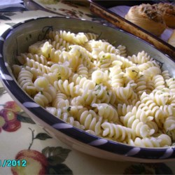 Garlic and Green Onion Pasta Salad Recipe