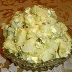 Healthier Old Fashioned Potato Salad