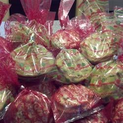 Festive Cookie Basket ready for hungry teens!