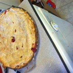 Rhubarb Cream Pie Recipe
